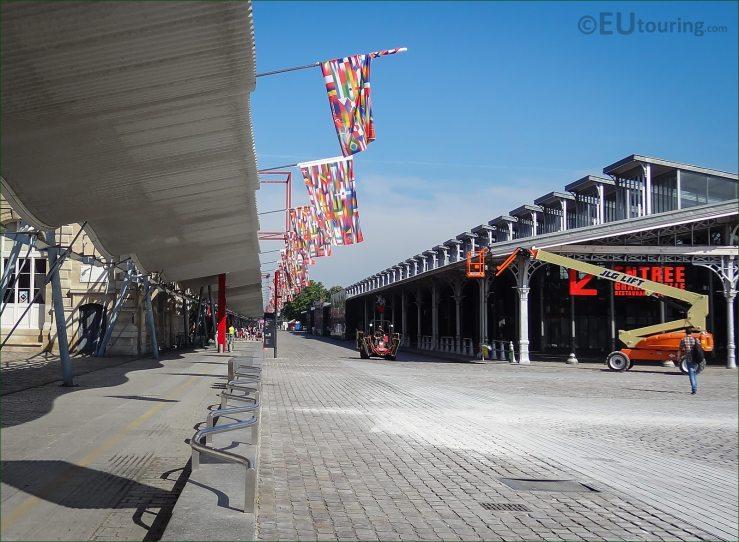 Side of the Grande Halle